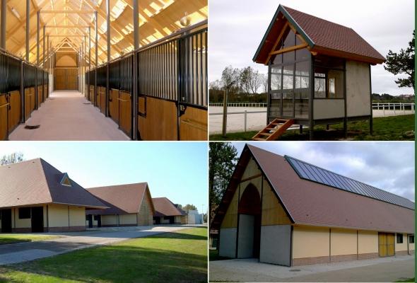 construction bois centre equestre